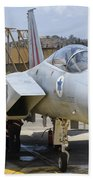 An F-15c Eagle Baz Aircraft Bath Towel