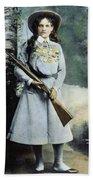 Annie Oakley (1860-1926) Bath Towel