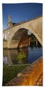Avignon Bridge Bath Towel