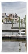 Bald Head Island Marina  Bath Towel