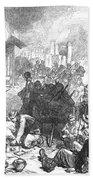 Balkan Insurgency, 1876 Bath Towel