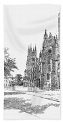 Canterbury Cathedral Hand Towel