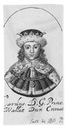 Charles I (1600-1649) Bath Towel