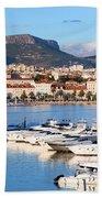 City Of Split In Croatia Bath Towel