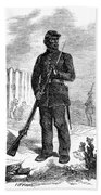Civil War: Black Troops Bath Towel