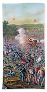 Civil War: Gettysburg, 1863 Bath Towel
