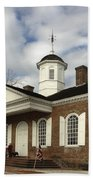 Colonial Williamsburg Courthouse Bath Towel