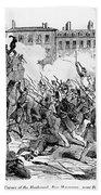 France: Revolution, 1848 Bath Towel