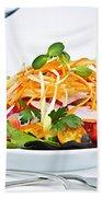 Garden Salad Bath Towel