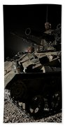 German Army Crew In A Wiesel 1 Atm Tow Hand Towel