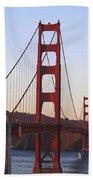 Golden Gate Bridge San Francisco Bath Towel