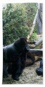 Gorillas Bath Towel