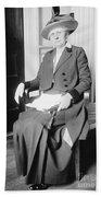 Ida M. Tarbell (1857-1944) Bath Towel