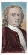 Isaac Newton, English Polymath Bath Towel