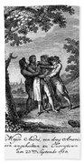 John Andre (1751-1780) Bath Towel