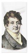 Joseph Fourier, French Mathematician Bath Towel