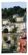 Kinsale Harbour, Co Cork, Ireland Bath Towel