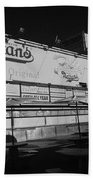 Nathan's Famous In Black And White Bath Towel