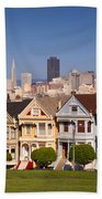Painted Ladies Bath Towel