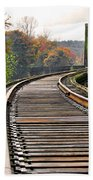 Railway Track Bath Towel