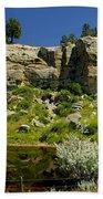Reflecting Cliffs Bath Towel
