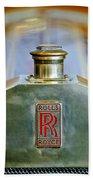 Rolls-royce Hood Ornament Bath Towel