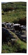 Slea Head, Dingle Peninsula, Co Kerry Bath Towel