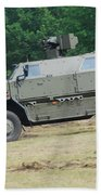 The Dingo 2 In Use By The Belgian Army Bath Towel