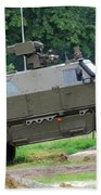 The Dingo 2 Mppv Of The Belgian Army Bath Towel