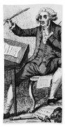 Thomas Paine, American Founding Father Bath Towel