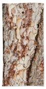 Tree Bark Hand Towel