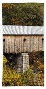 Vermont Covered Bridge Bath Towel