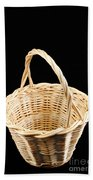 Wicker Basket Hand Towel