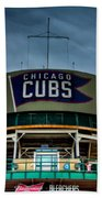 Wrigley Field Bleachers Bath Towel