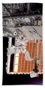 Astronaut Participates Bath Towel