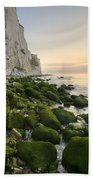 Sunrise At The White Cliffs Of Dover Bath Towel