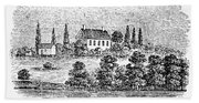 William Henry Harrison Bath Towel