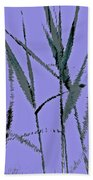 Water Reed Digital Art Bath Towel