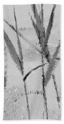 Water Reed Digital Art Bath Towel