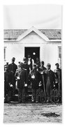 Civil War: Black Troops Bath Towel