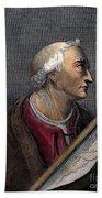 Amerigo Vespucci (1454-1512) Bath Towel