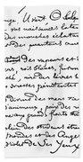 Arthur Rimbaud (1854-1891) Hand Towel