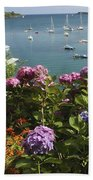 Bay Beside Glandore Village In West Bath Towel