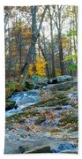 Big Hunting Creek Upstream From Cunningham Falls Bath Towel