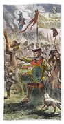 Boston: Stamp Act Riot, 1765 Hand Towel