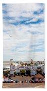 Clacton Pier Bath Towel