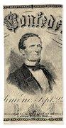 Confederate Banknote Bath Towel