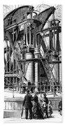 Corliss Steam Engine, 1876 Bath Towel