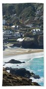 Cornish Seascape St Agnes  Bath Towel