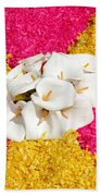 Flower Carpet Bath Towel